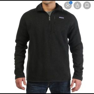 Patagonia men better sweater halo zip XL pullover